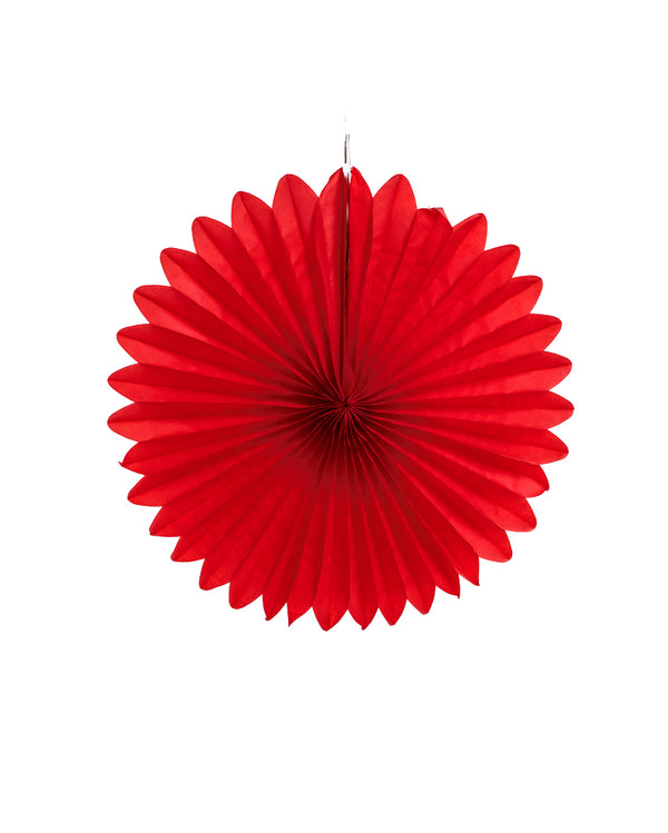 Medium Red Fan