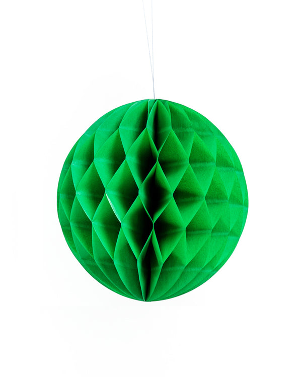 Medium Green Honeycomb Ball