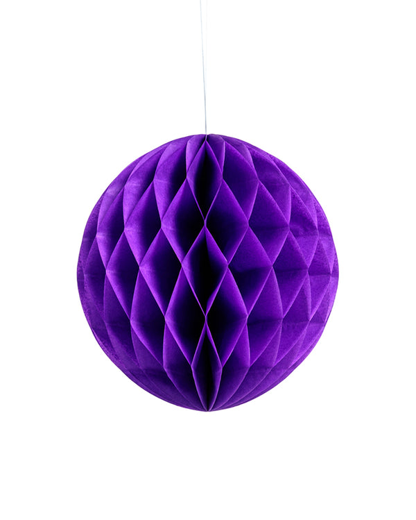 Medium Purple Honeycomb Ball