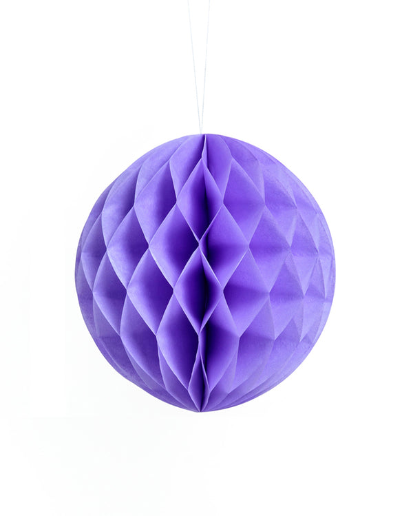 Medium Lavender Honeycomb Ball