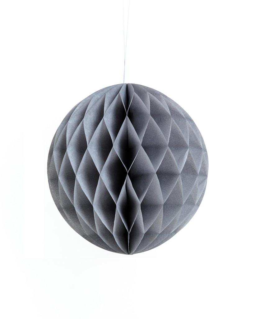 Medium Grey Honeycomb Ball