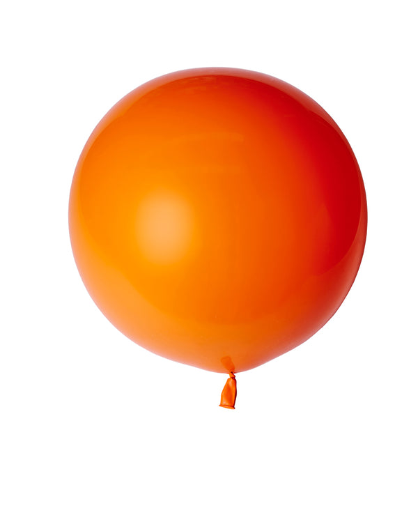 Orange Large Balloon