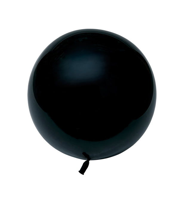 Black Large Balloon