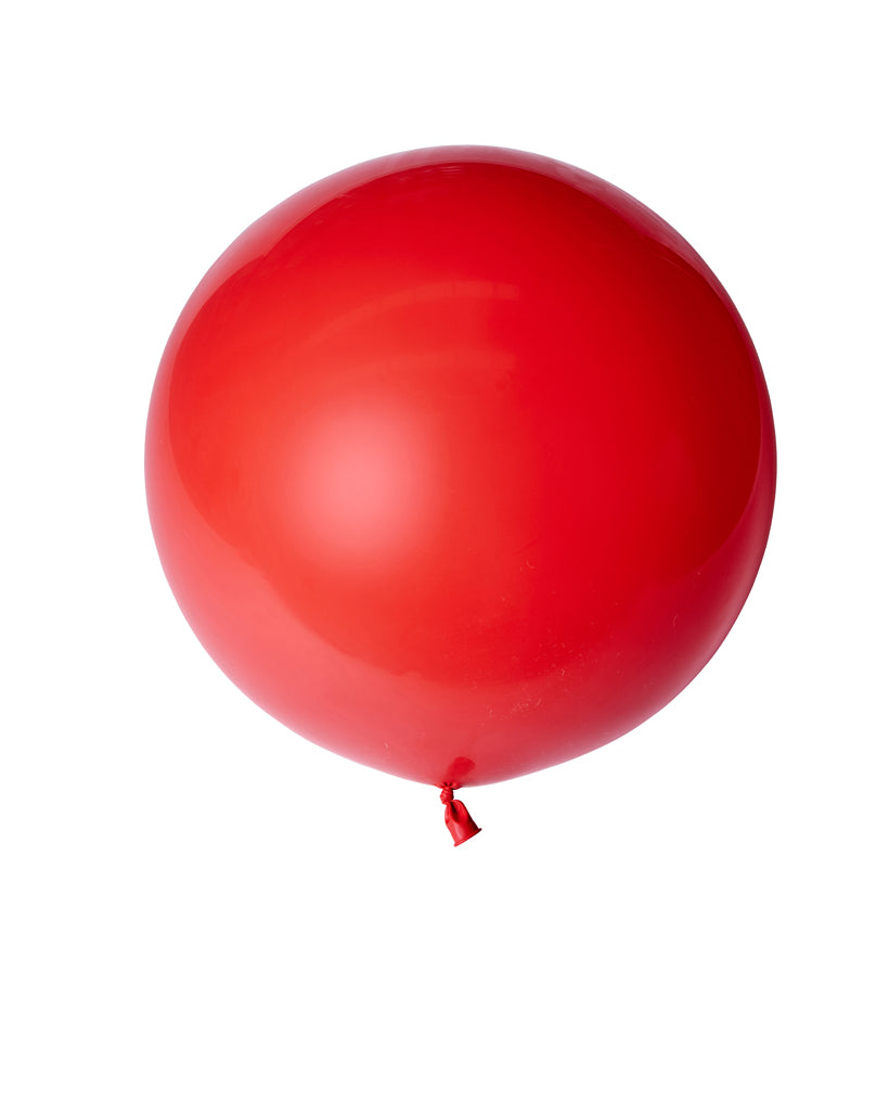 Apple Red Large Balloon