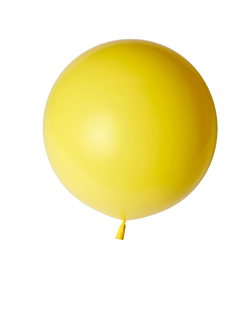 Yellow Large Balloon