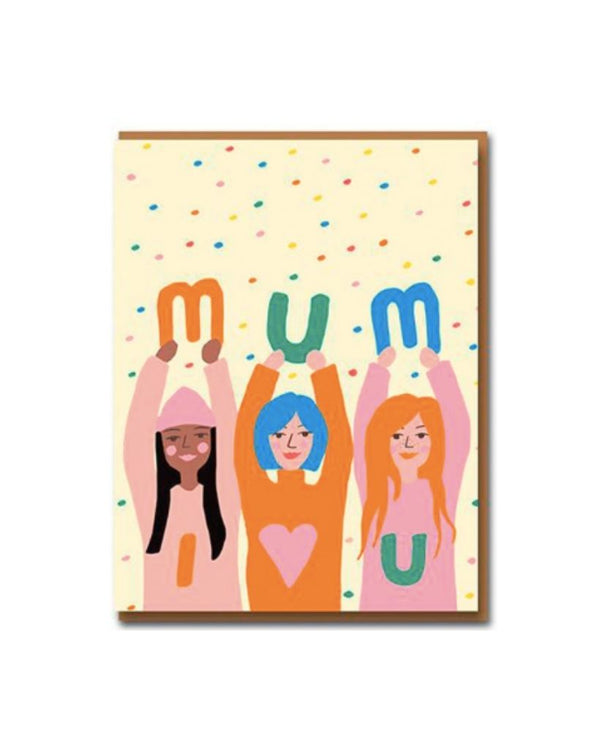 Mum I love You Card
