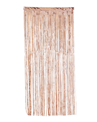 Rose Gold Curtain