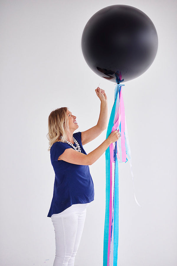 Gender Reveal Balloon Filled with Helium