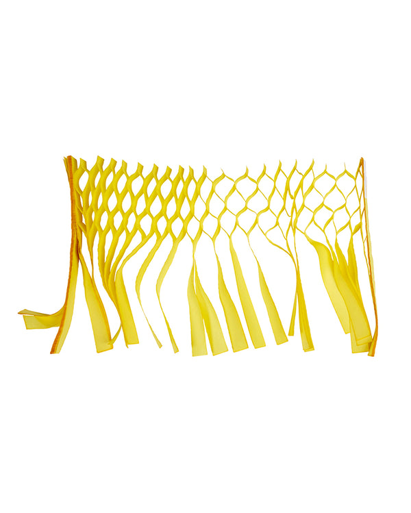 Yellow Streamer Garland