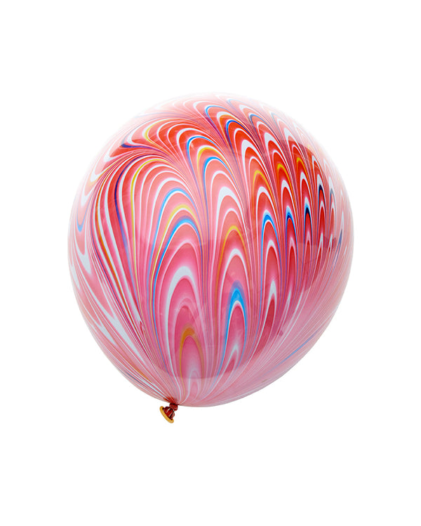 Red Peacock Balloon