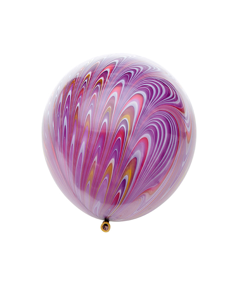 Purple Peacock Balloon