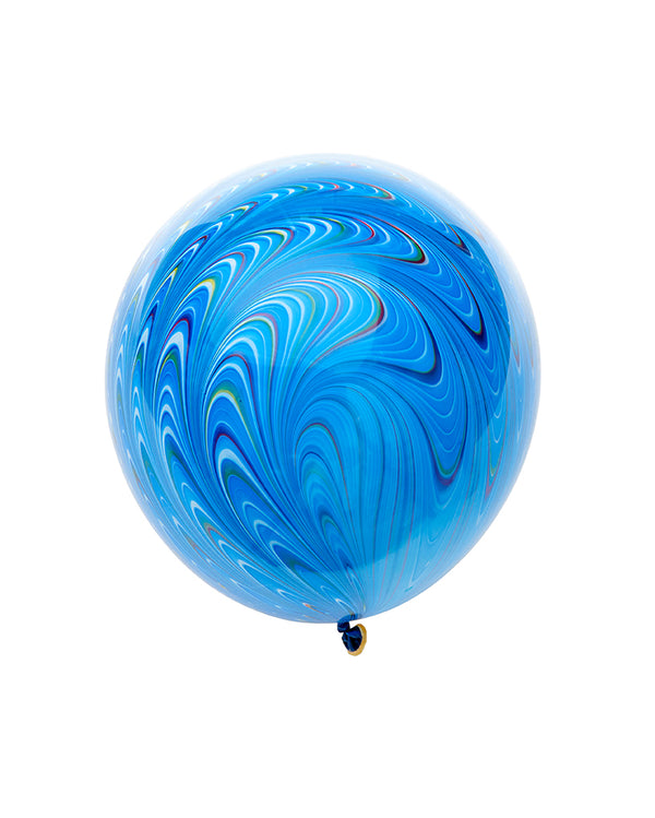Blue Peacock Balloon