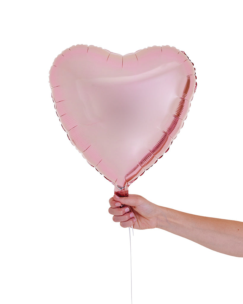 Blush Heart Balloon