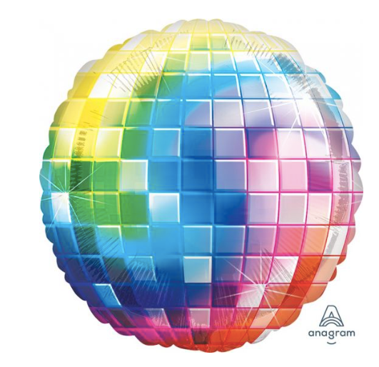 Disco Fever Foil Balloon