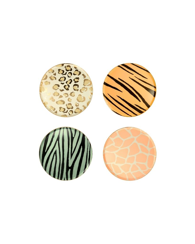 Safari Animal Print Small Plates