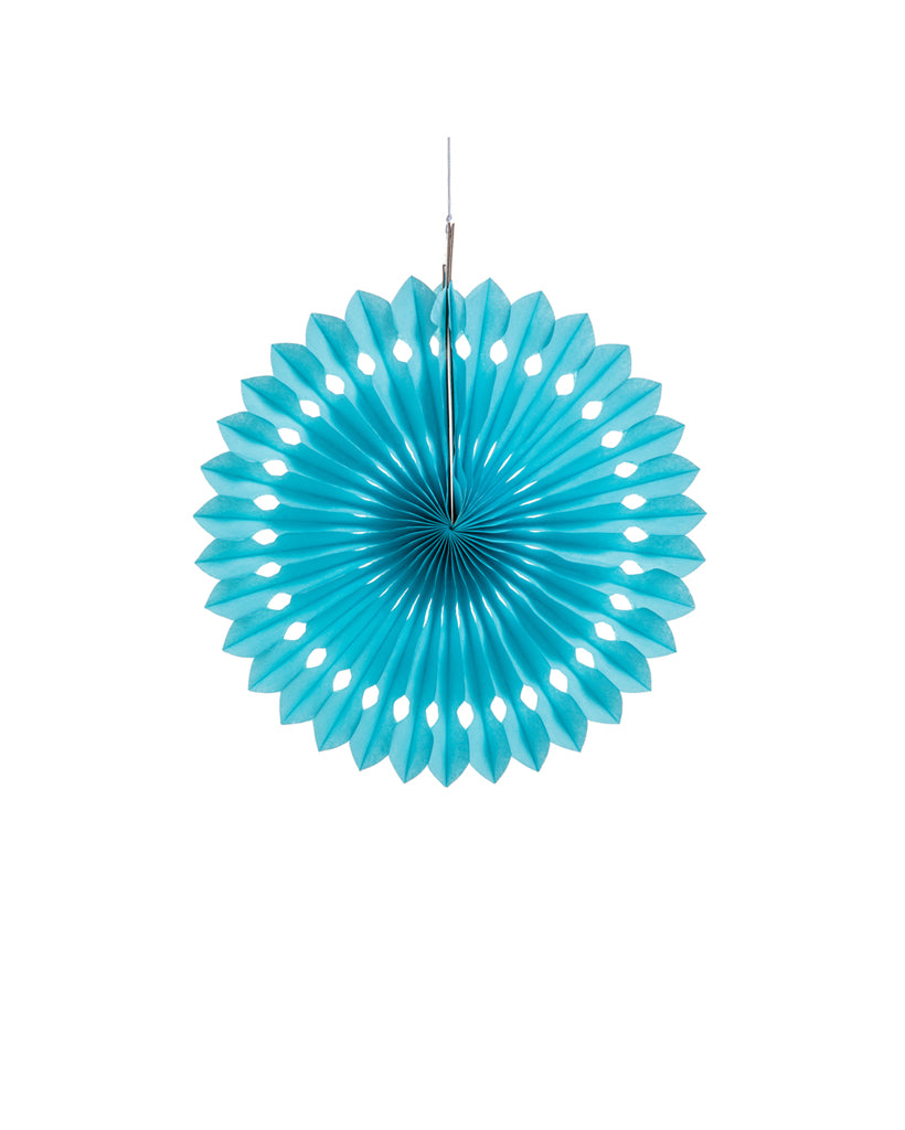 Small Light Blue Fan