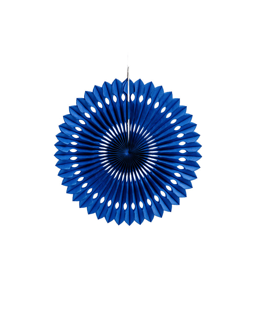 Small Royal Blue Fan