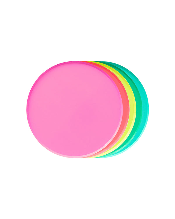 Oh Happy Day Rainbow Small Plate Set
