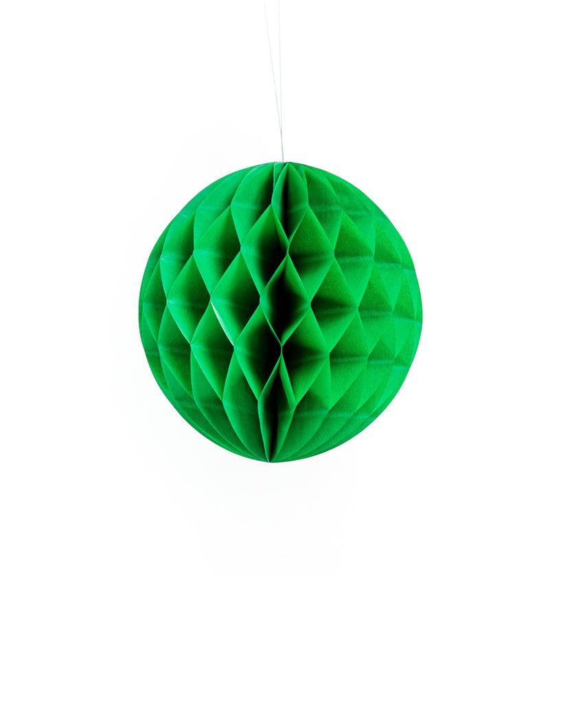 Small Green Honeycomb Ball