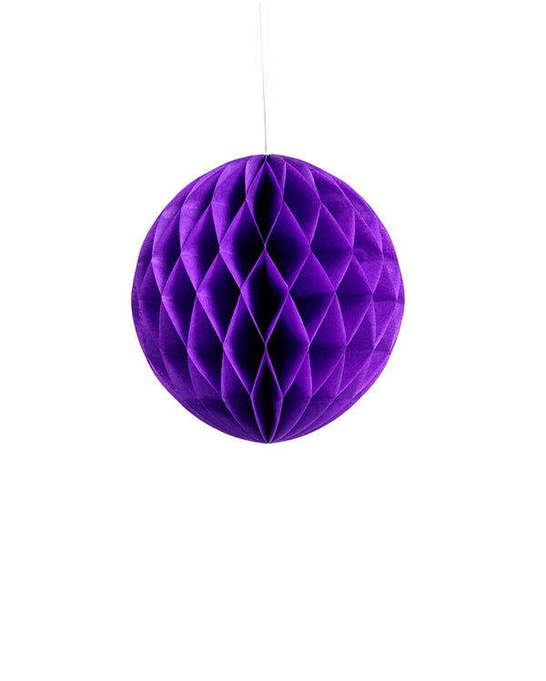 Small Purple Honeycomb Ball