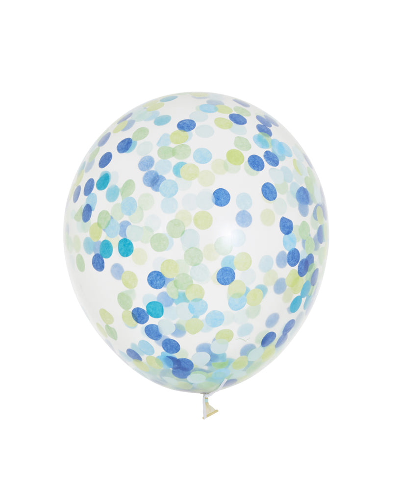 Handsome Standard Confetti Balloons