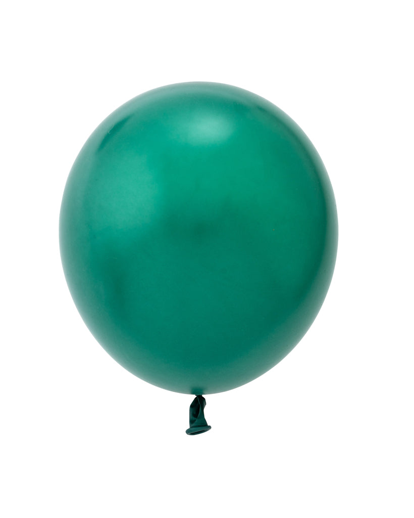 Metallic Forest Green Standard Balloons