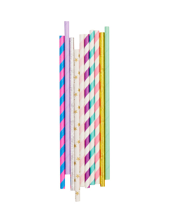Unicorn Straw Set