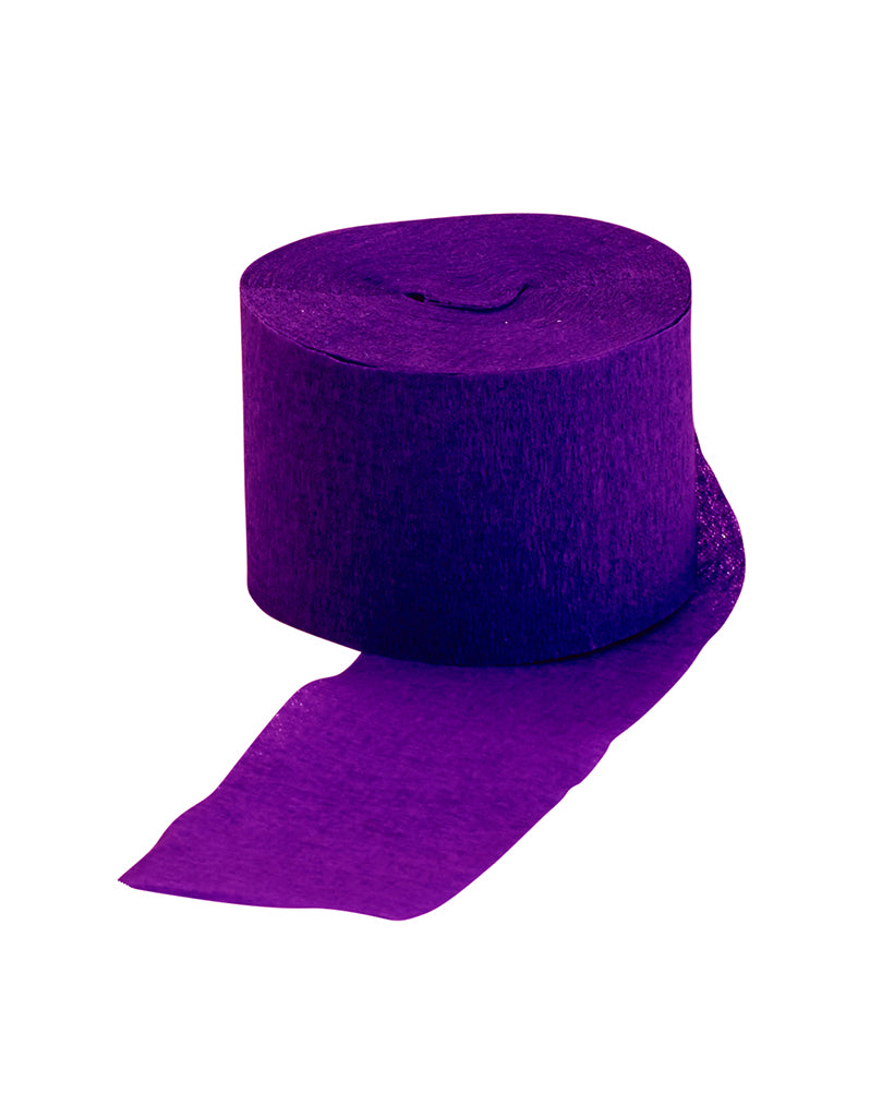 Purple Streamer Roll