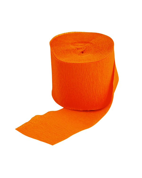 Orange Streamer Roll