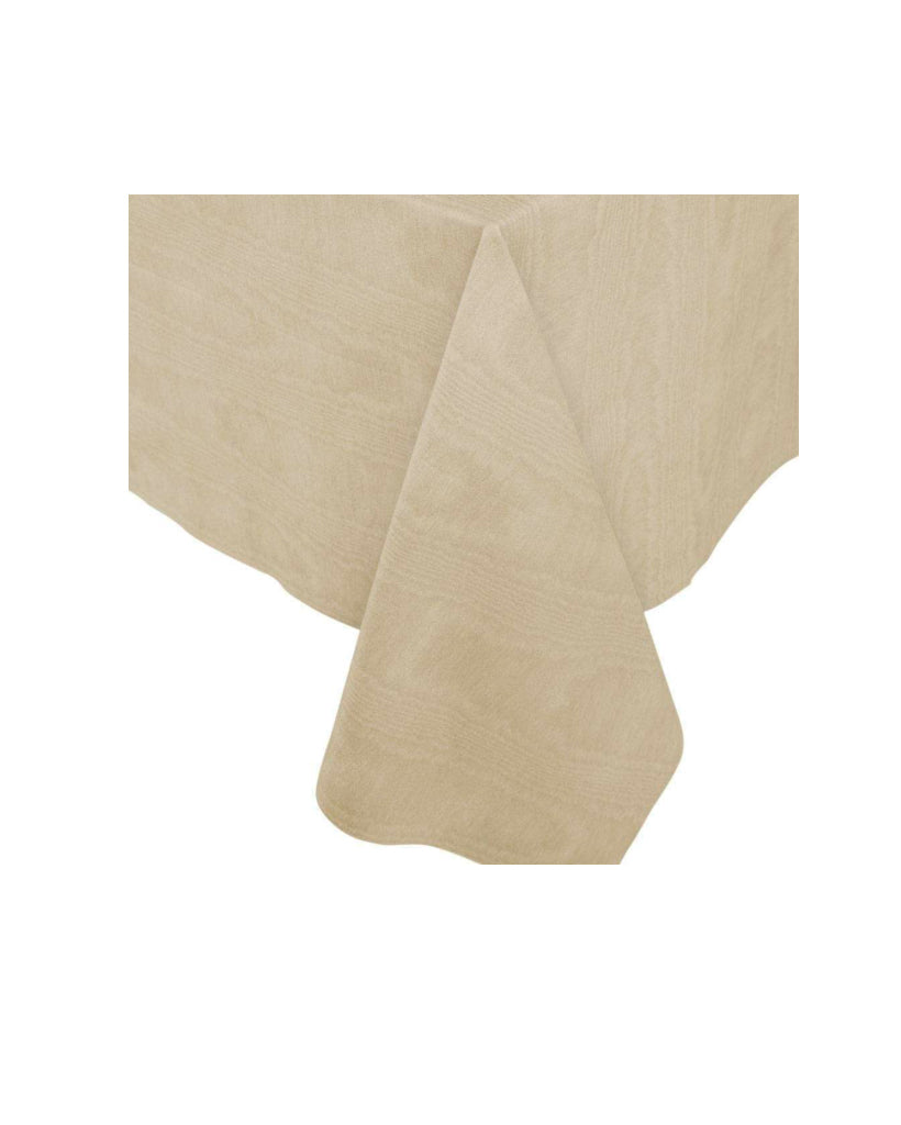 Gold Moire Paper Table Cloth