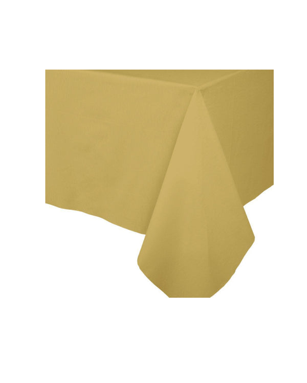 Gold Paper Table Cloth