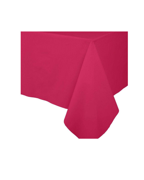 Fuchsia Paper Table Cloth