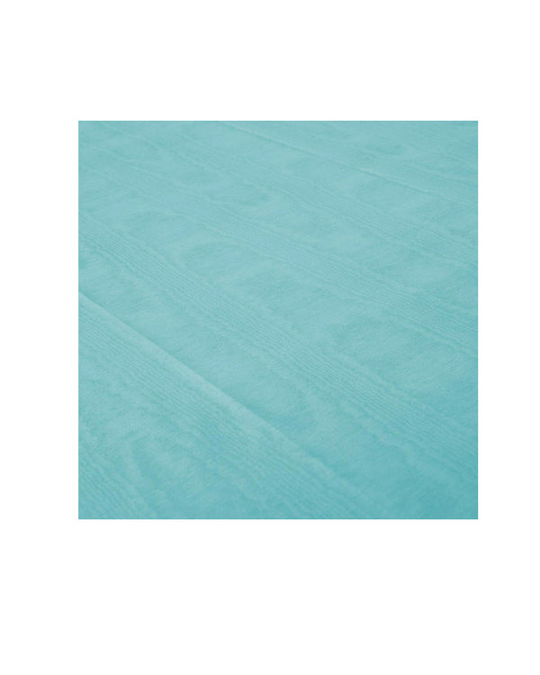 Blue Moire Paper Table Cloth