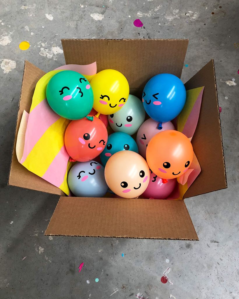 Mini Balloon Friends Inflated (Shipped)