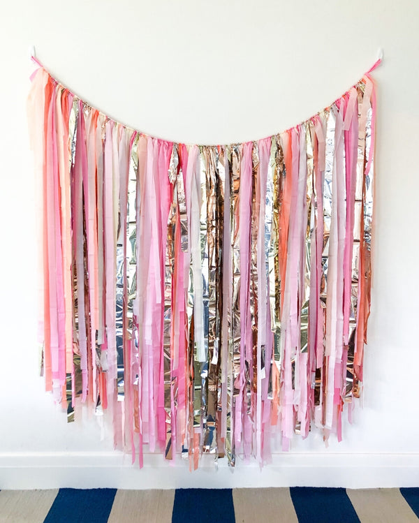 Blossom Streamer Wall