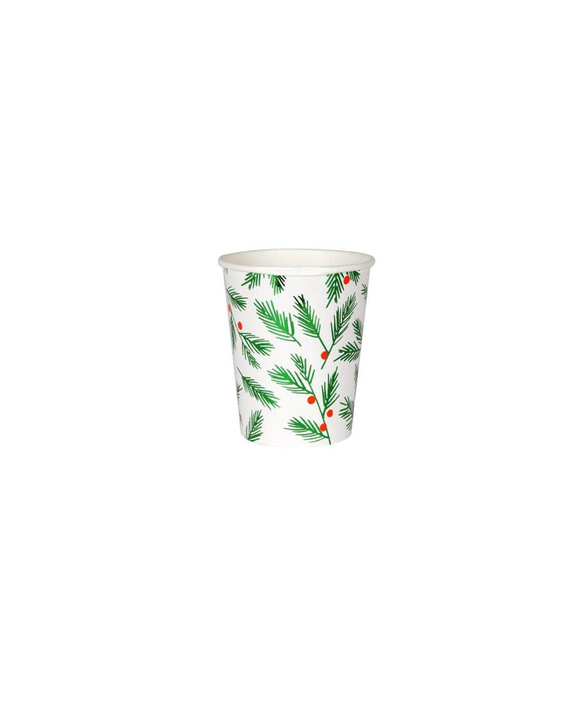Festive Leaves Cups