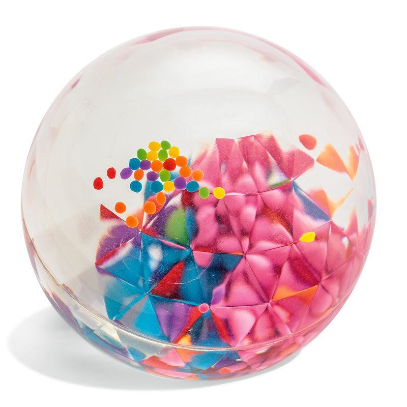 Confetti bouncy ball