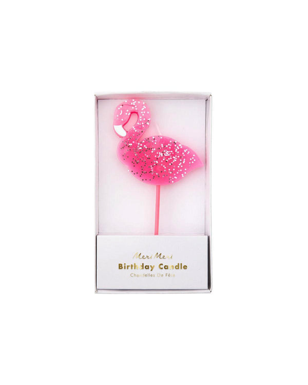 Meri Meri Large Flamingo Candle
