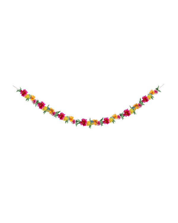 Bright Blossom Flower Garland