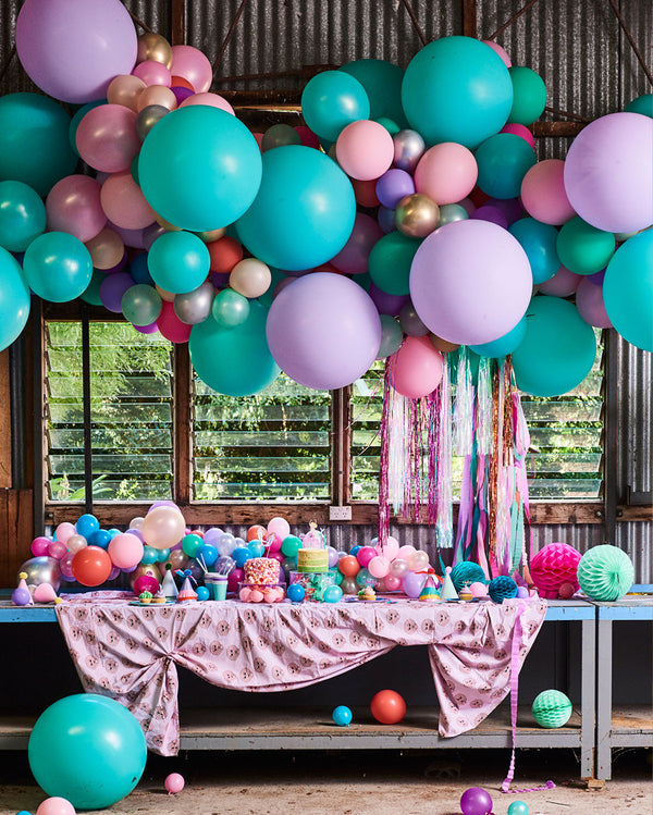 Large Mermaid Balloon Garland