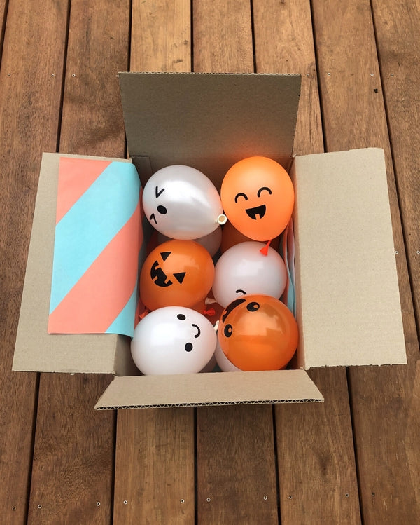 Mini Spooky Balloon Friends (shipped flat)