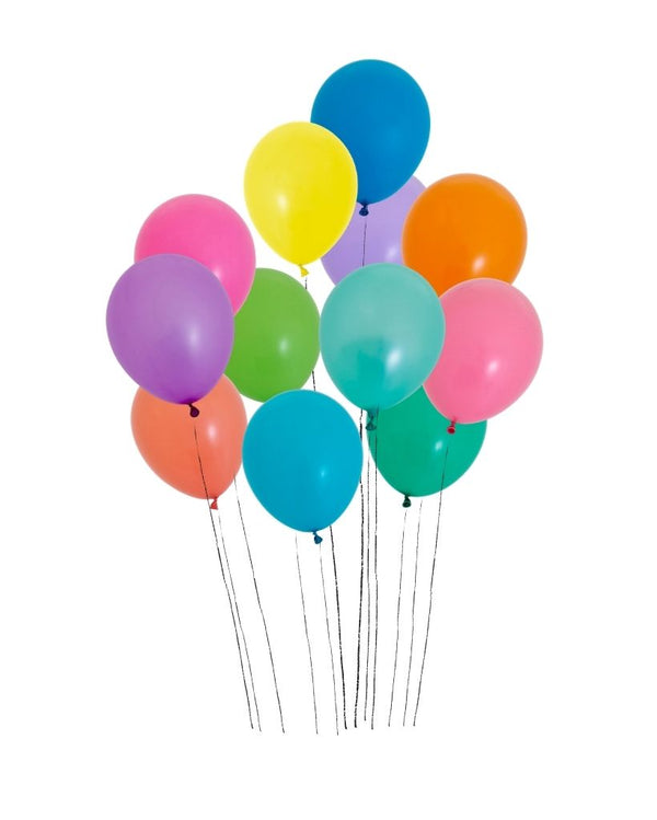 Custom Balloon Bunch Filled with Helium