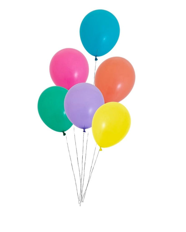 Custom Small Balloon Bunch Filled with Helium
