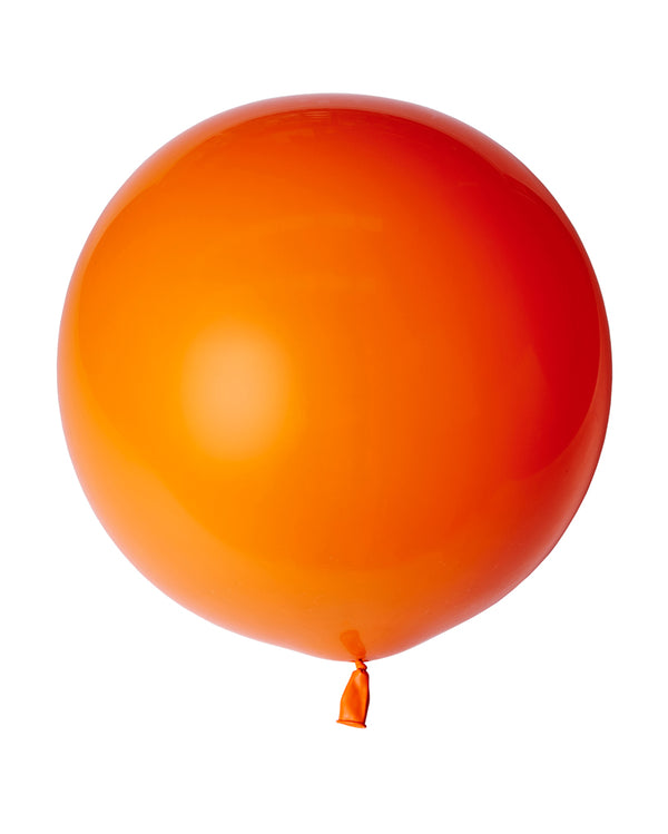 Orange Jumbo Balloon