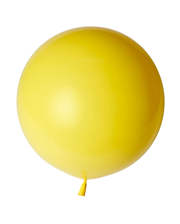 Yellow Jumbo Balloon