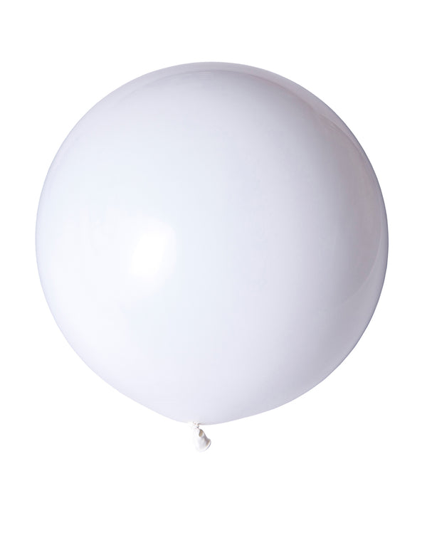 White Jumbo Balloon