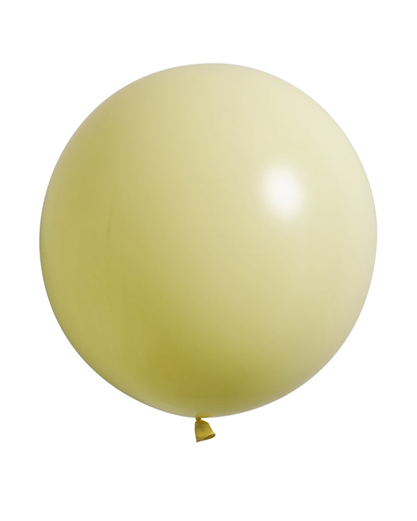 Pastel Matte Yellow Jumbo Balloon