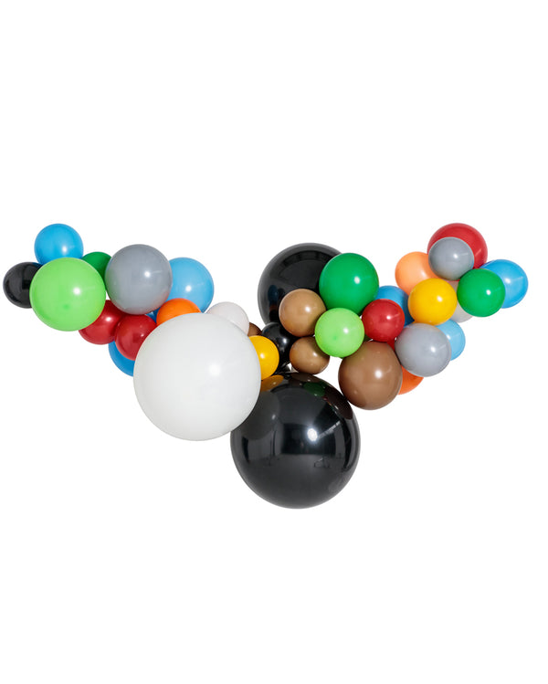 Building Block Balloon Garland