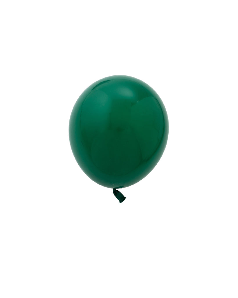 Dark Green Mini Balloons