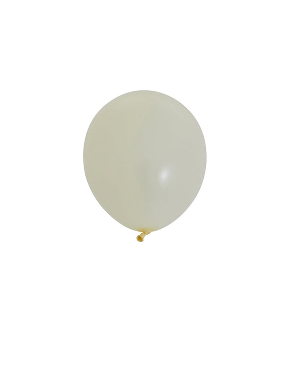 Ivory Silk Mini Balloons